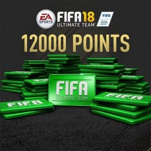 FIFA 18 Ultimate Team 12000 FIFA Points Digital (Código) / Ps4
